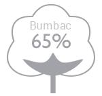 65% bumbac