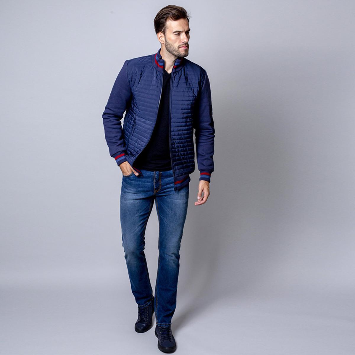 Férfi steppelt kabát Willsoor (3XL 5XL es méretben) 8487