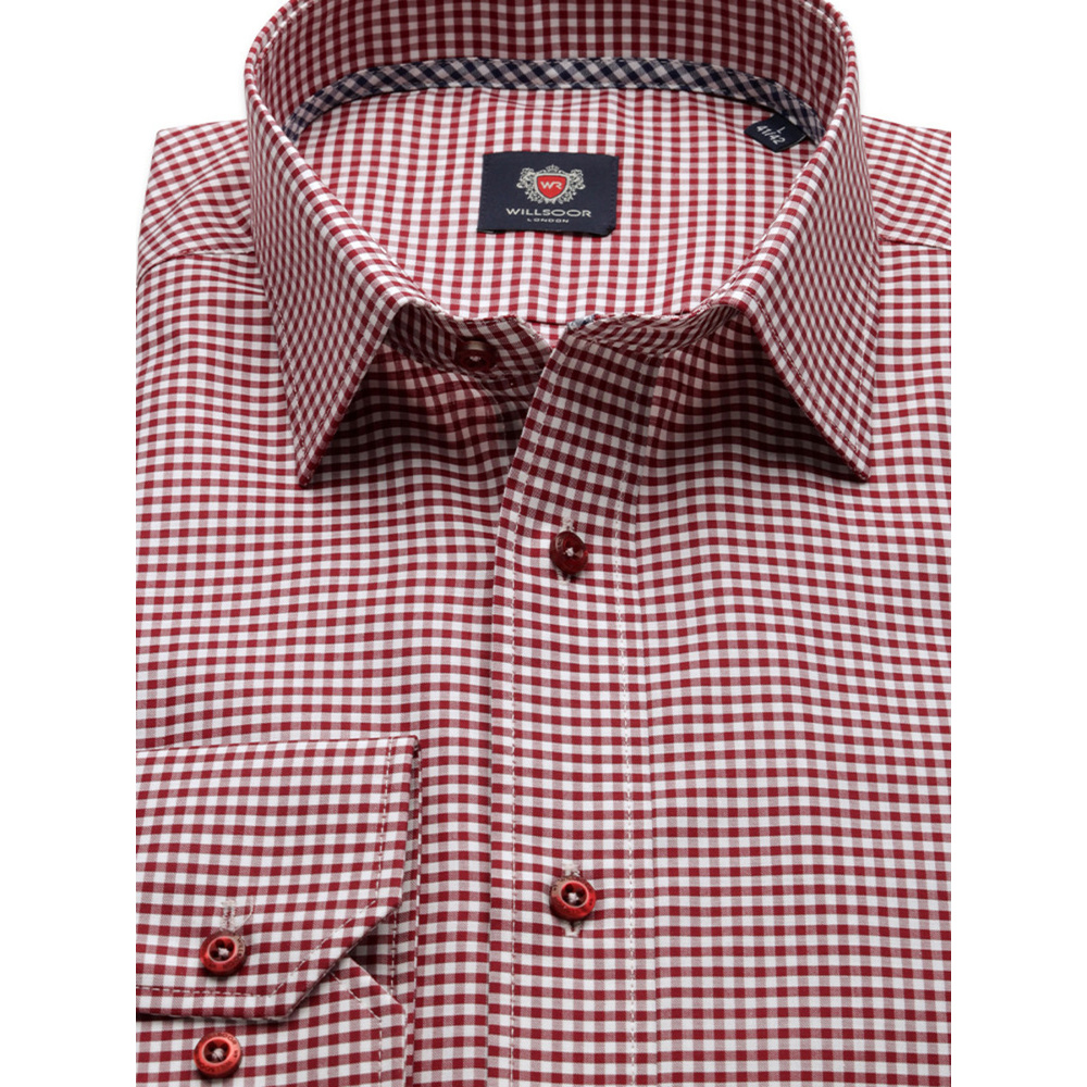Košile London vzor gingham  9929