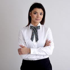 e17d2ee5a6 Női íj nyakkendő val vel színes virágos minta 10604 - willsoor.hu