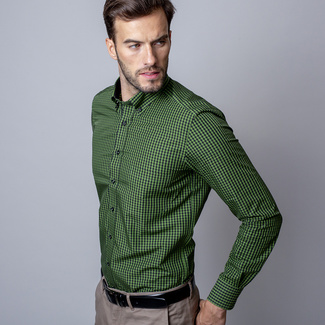 Férfi ing slim fit Willsoor 7359