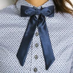 3b576f599a Női kék csokornyakkendő Willsoor 9307 - willsoor.hu